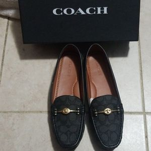 Coach woman loafer/ slip on